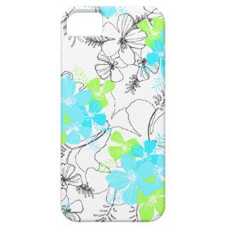 Midnight Garden Hawaiian Hibiscus iPhone 5 Cases