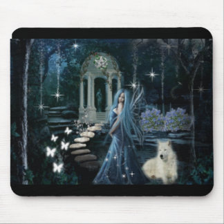 Midnight Garden Mouse Pad