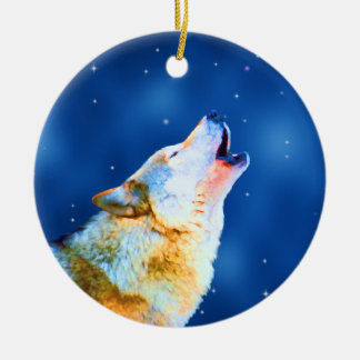 Midnight Howl Ornament