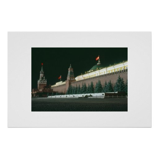 Midnight in Red Square Posters