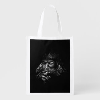 Midnight in Russia Reusable Grocery Bag