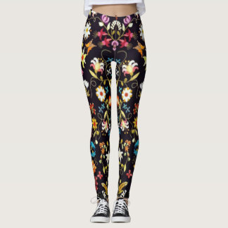 Midnight In the garden Leggings