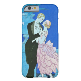 Midnight Kiss Art Deco iPhone 6 case Barely There iPhone 6 Case