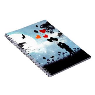 Midnight kiss notebook