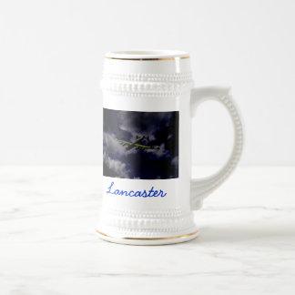Midnight lancaster , 18 oz beer stein