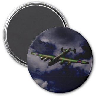 Midnight Lancaster 3 Inch Round Magnet