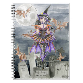 Midnight Magic Spiral Notebook