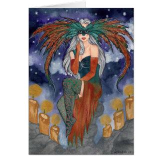 Midnight Masquerade Card