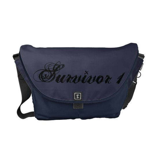 Midnight Medium Survivor Bag Courier Bags