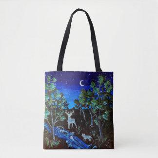 Midnight Mingling Tote Bag