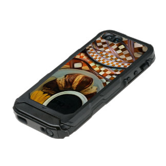 Midnight Never Ends, a Red Checkered Diner Fractal Incipio ATLAS ID™ iPhone 5 Case