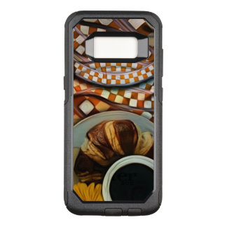 Midnight Never Ends, a Red Checkered Diner Fractal OtterBox Commuter Samsung Galaxy S8 Case