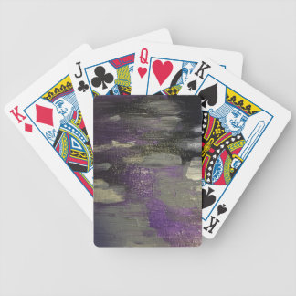 Midnight on Canvas Bicycle Playing Cards