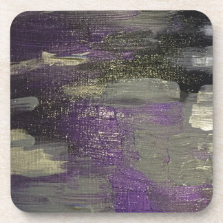 Midnight on Canvas Coaster