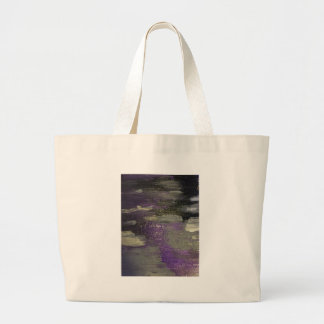 Midnight on Canvas Large Tote Bag
