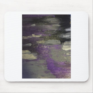 Midnight on Canvas Mouse Pad
