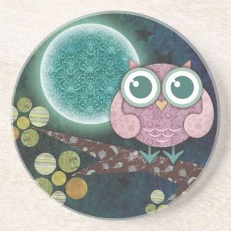 Midnight Owl Coaster