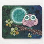 Midnight Owl Mousepad