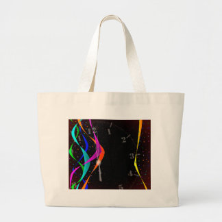 Midnight Party Large Tote Bag