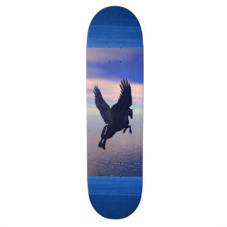 Midnight Pegasus Skate Board Decks