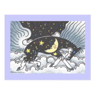 Midnight Pony Postcard