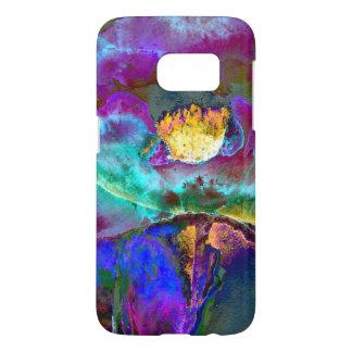 Midnight Poppy Samsung Galaxy S7 Case