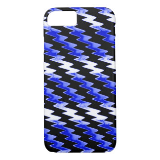 Midnight Psychedelic Lightning Pattern iPhone 7 Case