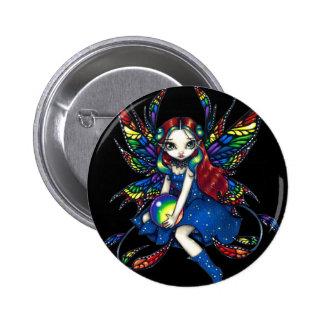 """""""Midnight Rainbow"""" Button"""