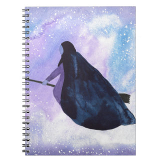 Midnight Ride Spiral Notebook
