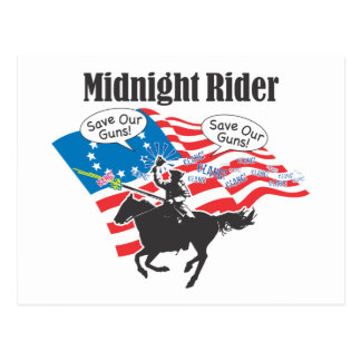 Midnight Rider Postcard
