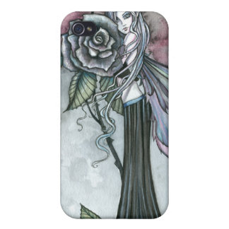 Midnight Rose Fairy Fantasy Art Molly Harrison iPhone 4/4S Cases