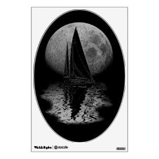 Midnight Sailing Wall Decal