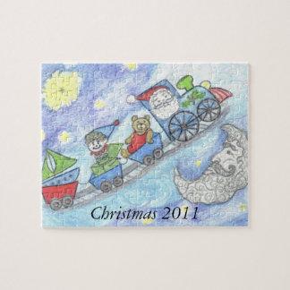 Midnight Santa Christmas 2011 puzzle