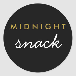 Midnight Snack Sticker
