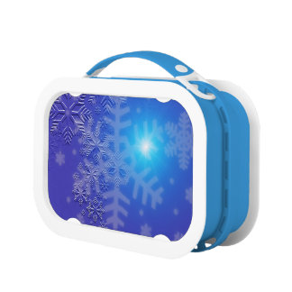Midnight Snowflakes Lunch Box