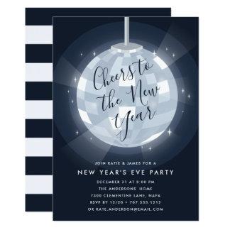 Midnight Stars   New Years Eve Party Invitation
