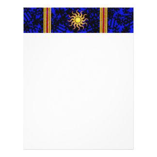 Midnight sun letterhead