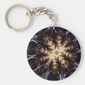 Midnight Sunflower Keychain