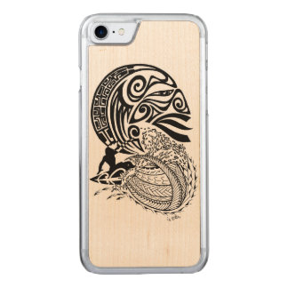 Midnight Surf Carved iPhone 8/7 Case
