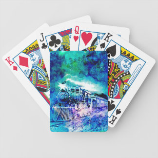 MIDNIGHT TRAIN BICYCLE PLAYING CARDS