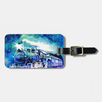 MIDNIGHT TRAIN LUGGAGE TAG