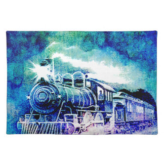 MIDNIGHT TRAIN PLACEMAT