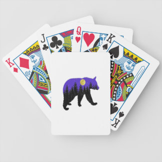 Midnight Walk Bicycle Playing Cards