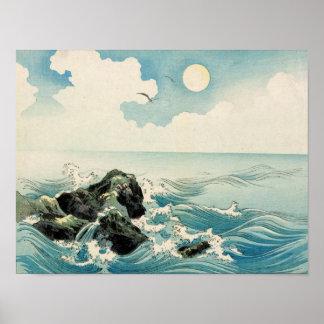 Midnight Waves Poster