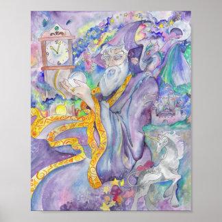 Midnight Wizard 8 x 10 print