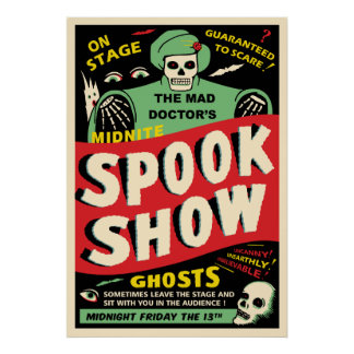 Midnite Spook Show Poster