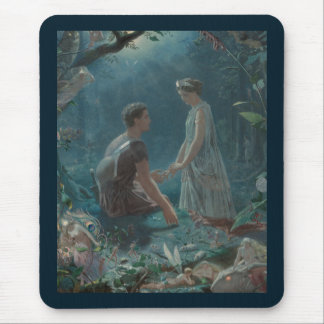 Midsummer Dream Hermia and Lysander Mouse Pad