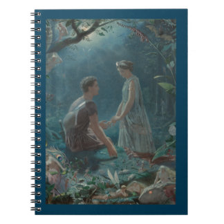 Midsummer Dream Hermia and Lysander Notebook