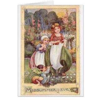 Midsummer Eve - Card