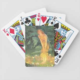 Midsummer Eve Fairy Circle Bicycle Playing Cards